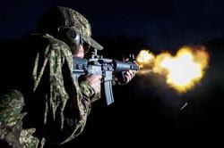 ar15 pistol SBR fireball pencott