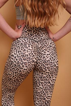Brazilian Thick Supplex Booty Scrunch Leggings - Cheetah