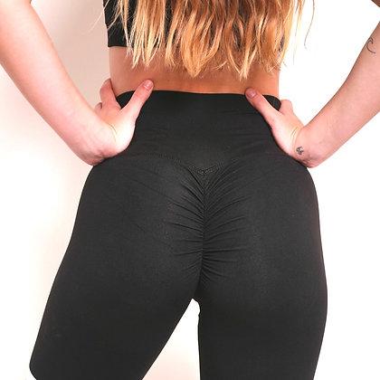 Brazilian Thick Supplex Booty Scrunch Goddess Leggings - Black