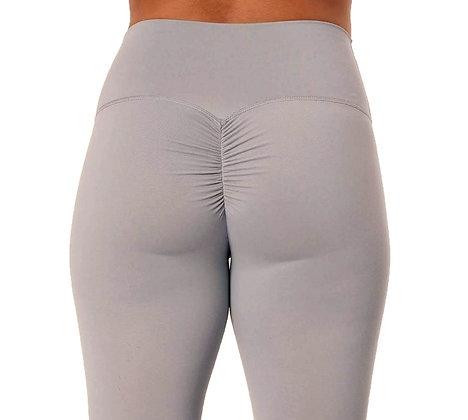 Brazilian Thick Supplex Booty Scrunch Goddess Leggings - Light Grey