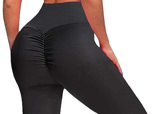 Brazilian Thick Supplex Booty Scrunch Leggings - Dark Grey