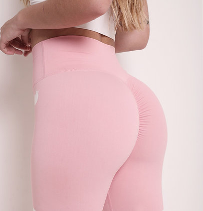 Brazilian Thick Supplex Booty Scrunch Goddess Leggings - Nude Peach