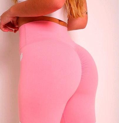 Brazilian Thick Supplex Booty Scrunch Goddess Leggings - Salmon Pink