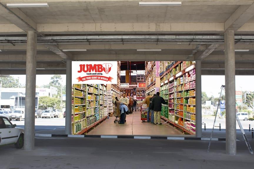 Arcades parking lot