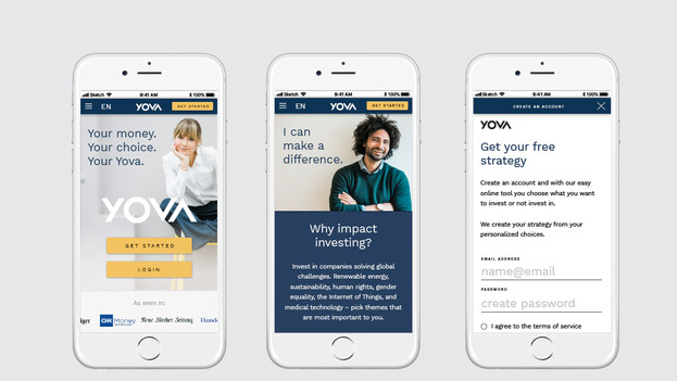 YOVA brand experience
