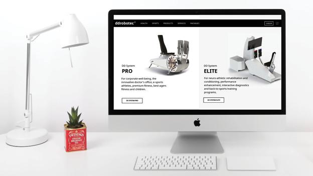 ddrobotec website overhaul