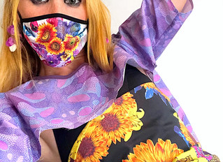 Mascaretes Social Fashion Monster