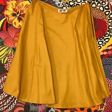 Ocher skirt