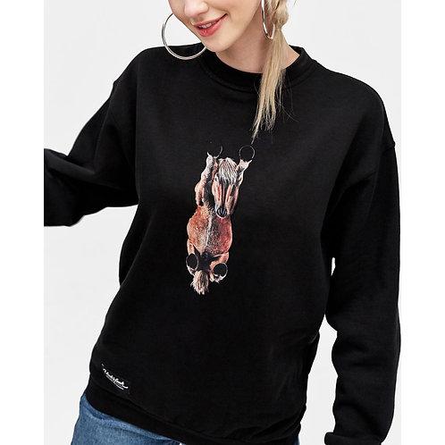 Džemperis be kapišono (Unisex) su Jūsų augintinio nuotrauka