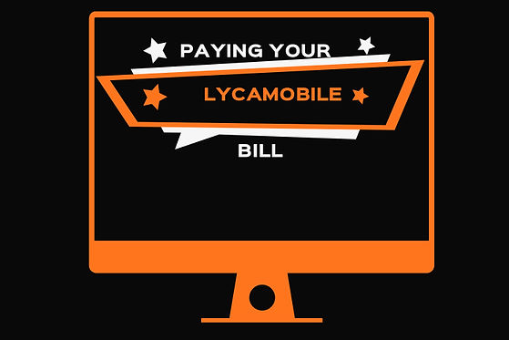 Paying Lycamobile bill