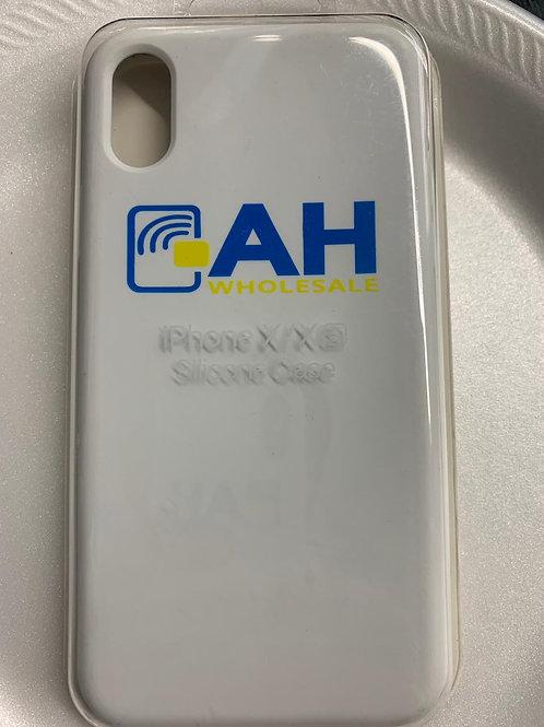 AH iPhone X/X(s) Silicon case (White)