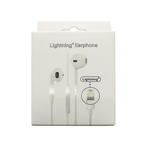 5 pcs Lightning Original Earphone for iPhone
