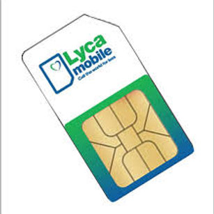 USA Lycamobile Prepaid Sim Cards