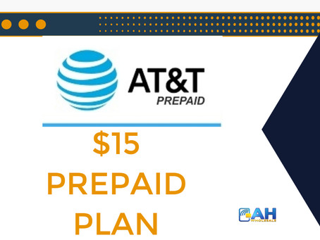 AT&T Prepaid $15 Monthly Plan
