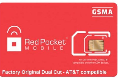 Red Pocket Mobile GSMA Sim Cards for Retailers or Distributors