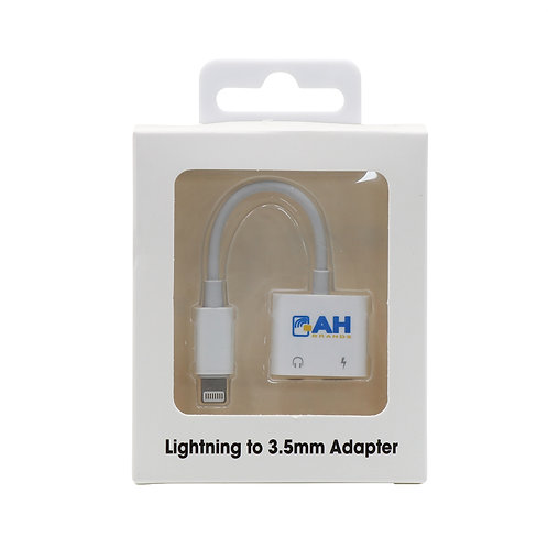 Lot of 5 IPhone Adapter Lightning To Aux Cable