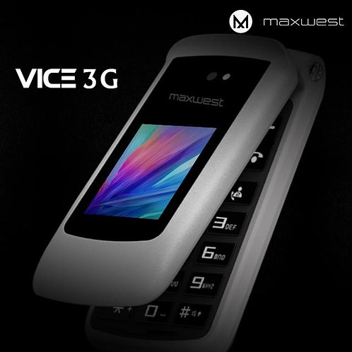 MaxWest Vice 3G Factory Unlocked Dual LCD GSM Phone
