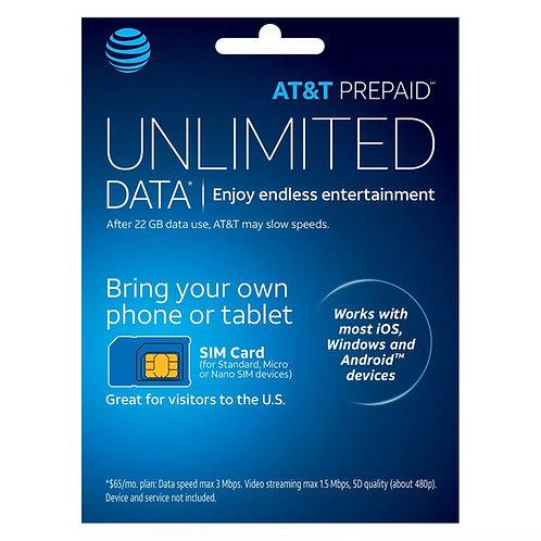 AT&T Sim Cards For Retailer total 10 pcs