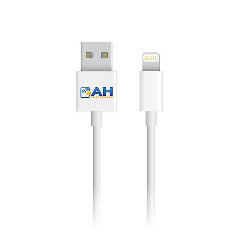 Lot of 10 AH Brand Lightning to USB Charge Cable for iPhone