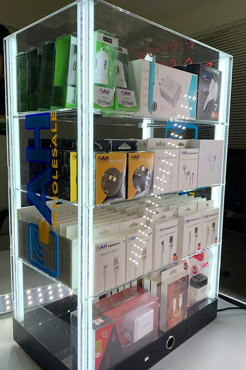 Cell Phone Accessories Display Case