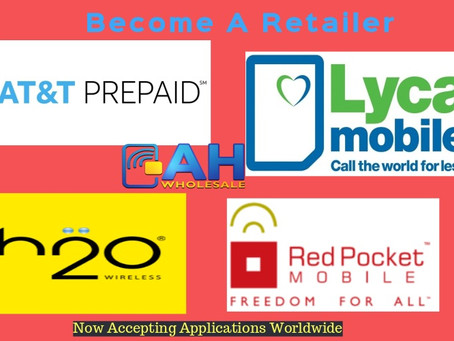 Retailers Wanted-AT&T-H2O Wireless-Red Pocket-Lycamobile