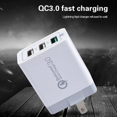 Qualcom QC 3.0 High Quality Travel Cahrger