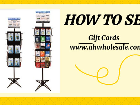 How To Sell Gift Cards At Your Retail Stores