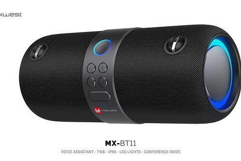 6PC Wholesale Maxwest BT11 Voice Assistant Bluetooth Speaker