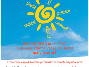 Information PRESENCE VERTE - Action CANICULE 2020
