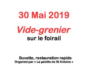 Vide-grenier du 30 mai,  Venez nombreux !