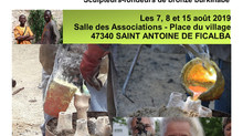Atelier Découverte sculpture : du bronze à la cire, dans le village de St Antoine de F.