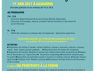 Journée départementale de l'élevage, le 19 juin à Gavaudun