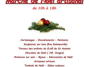 Marché de Noël, le 27 novembre 2016