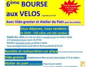 Bourse aux Vélos, Vide-grenier, Dimanche 13 juin 2021