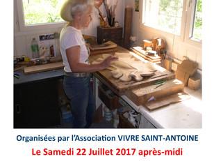 Animations estivales de Vivre St Antoine
