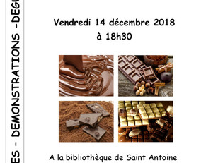 Votre Bibliothèque fête le chocolat  !