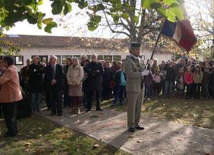 Emouvante cérémonie, ce 11 Novembre au Monument aux Morts de Saint-Antoine