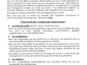 Elections municipales : comprendre les modes de scrutin