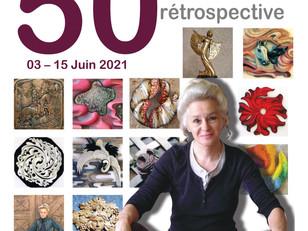 Exposition à ne pas manquer ! 50 ans de passion sculpture