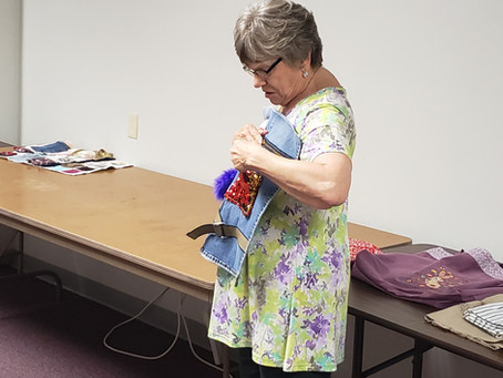 Hobbies That Help: Embroidery Club at Milwaukee Sewing Machine