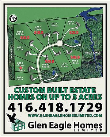 Glen Eagle Homes Limited Palgrave Estates