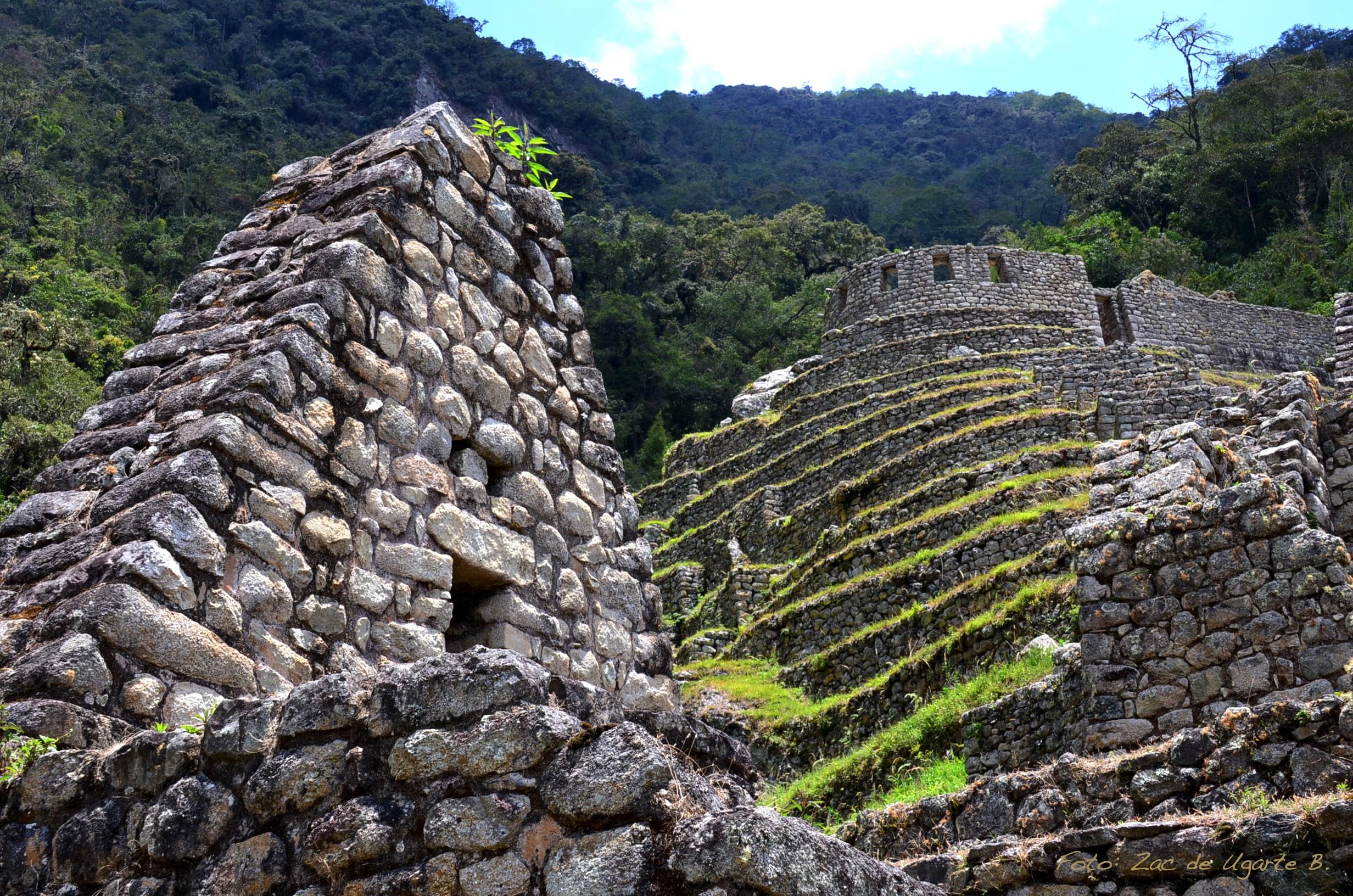 KM 104.3 Ruins at Ollanta