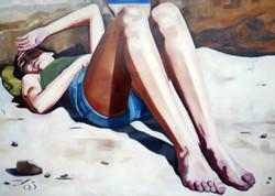 legs, oil on canvas 140x100cm 2021