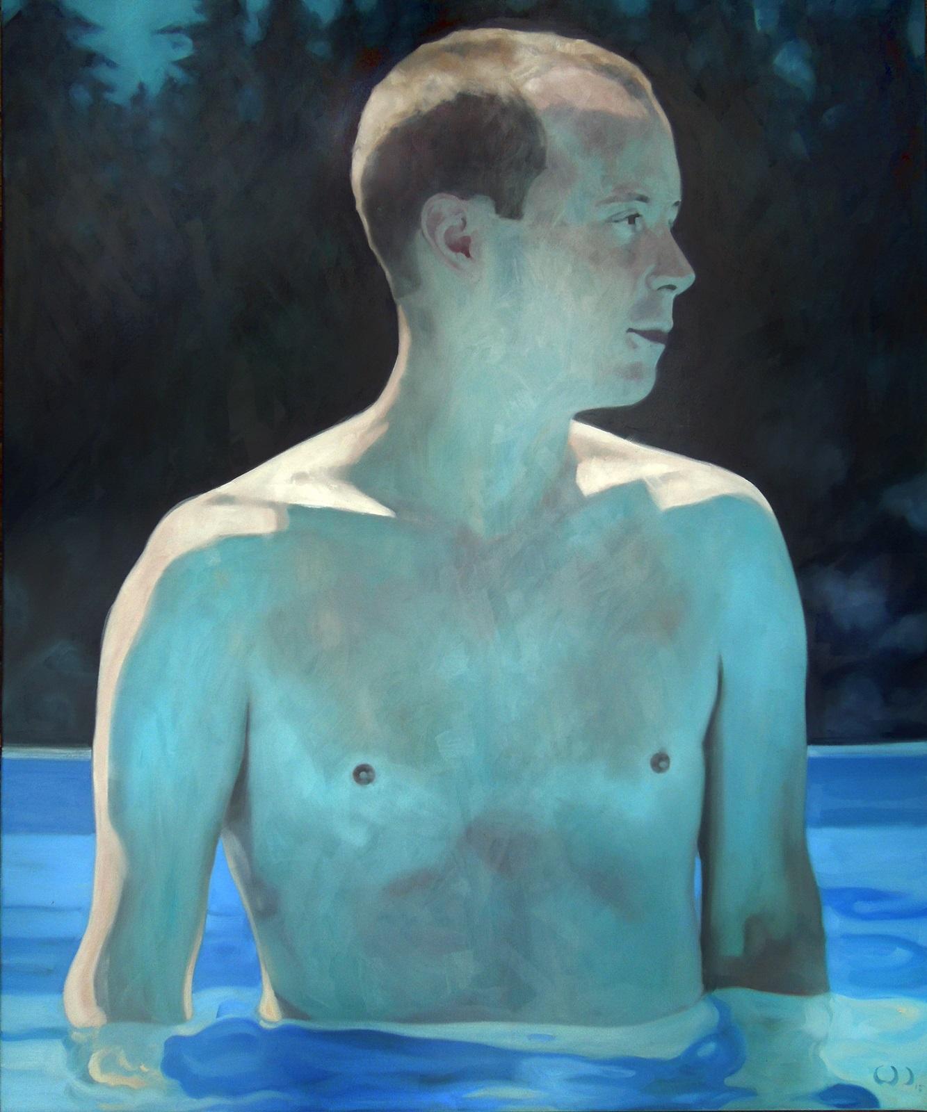 nightswimmer,_Öl_auf_Leinwand,_100x120cm