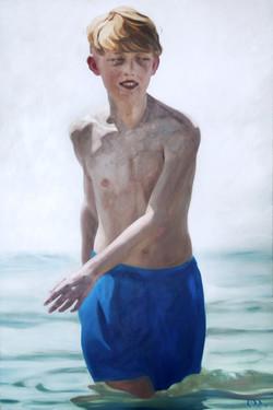 boy_in_the_water_Öl_auf_Leinwand_80x120c