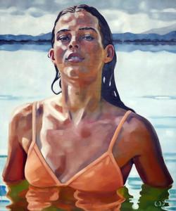 Susanna 2 oil on canvas 120x100cm 2021