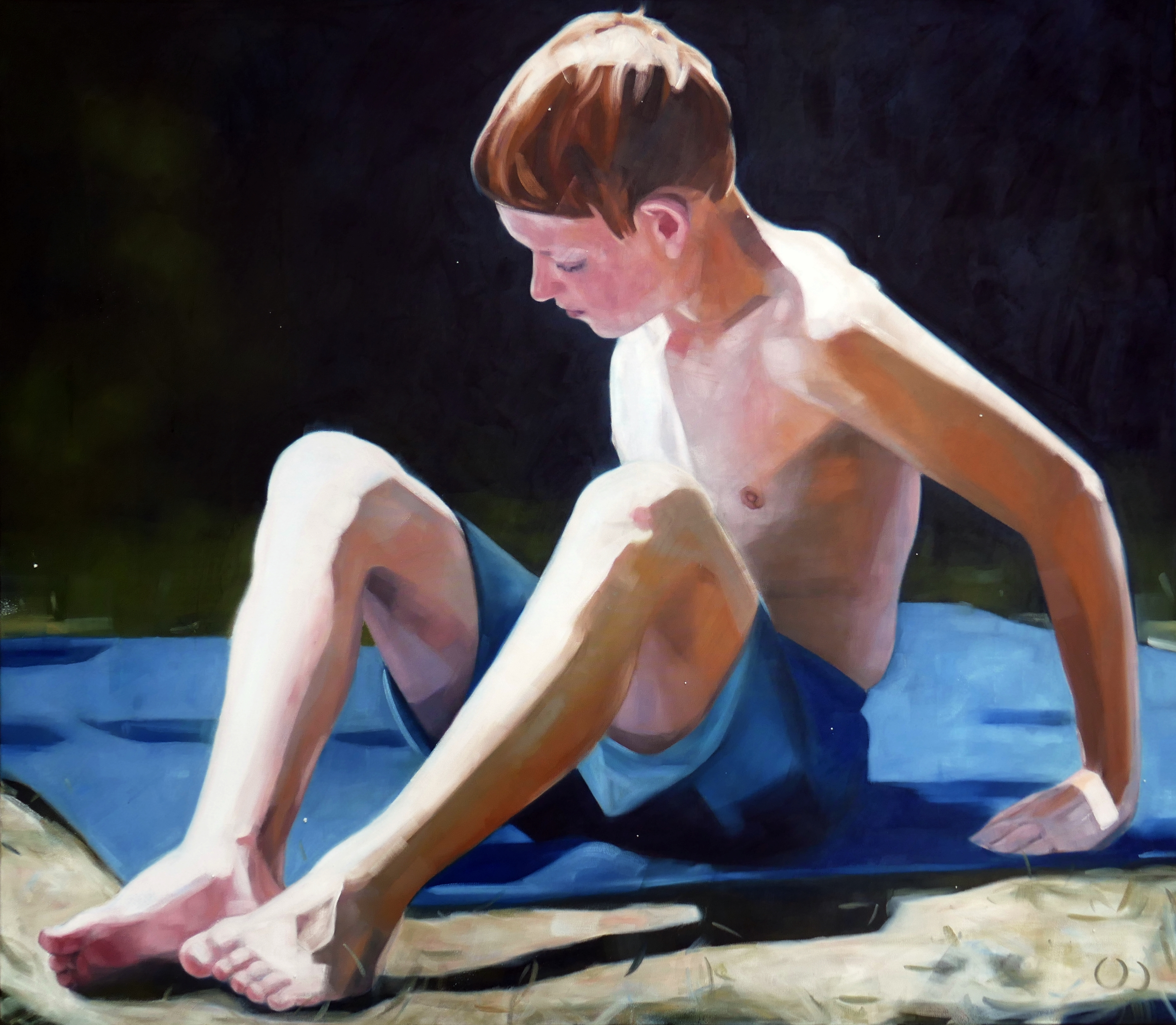 limbs 2, oil on canvas 140x100x2cm 2020.