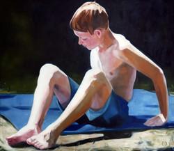 limbs 2, oil on canvas 140x100x2cm 2020.
