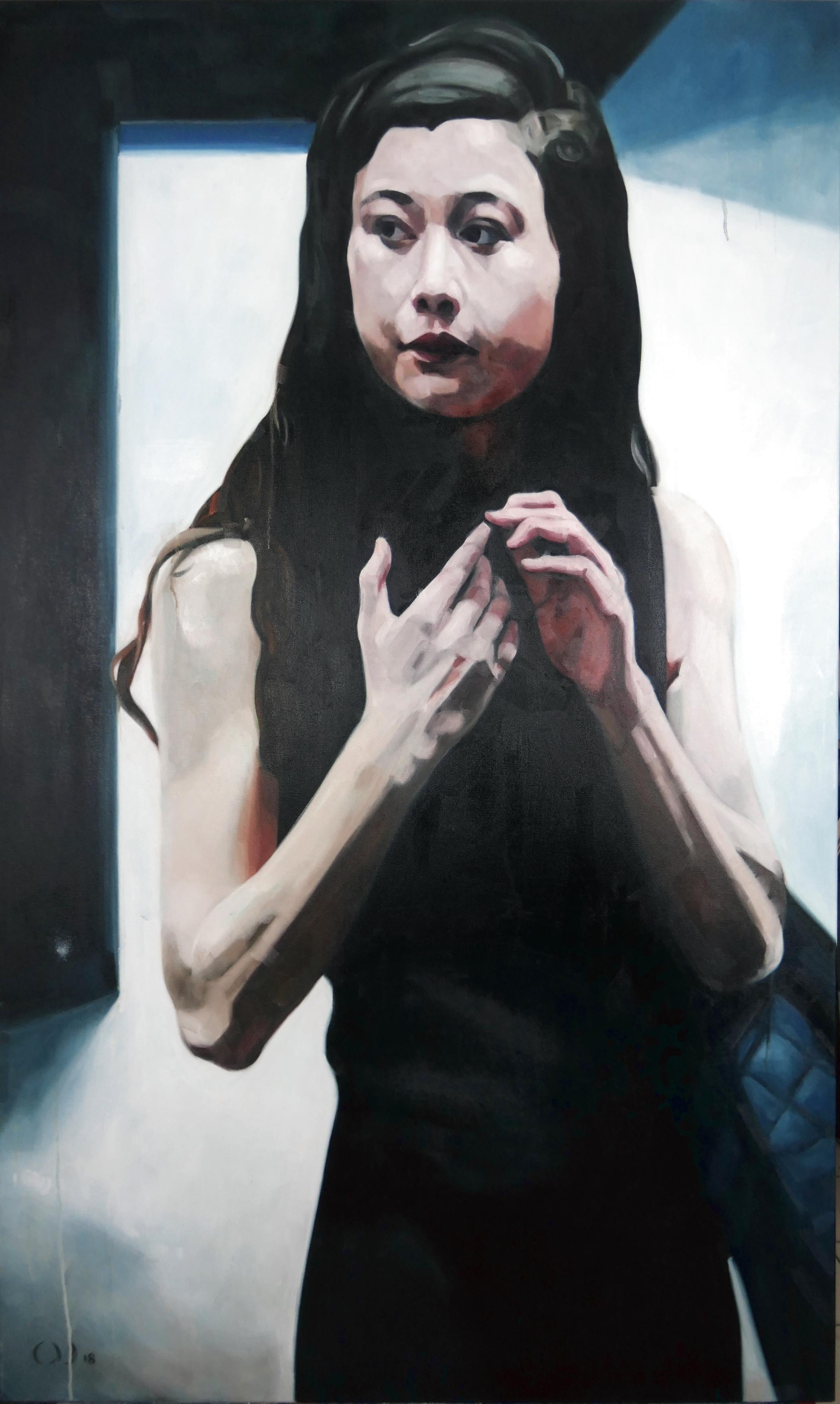 darkroom_Öl_auf_Leinwand_150x90cm_2018