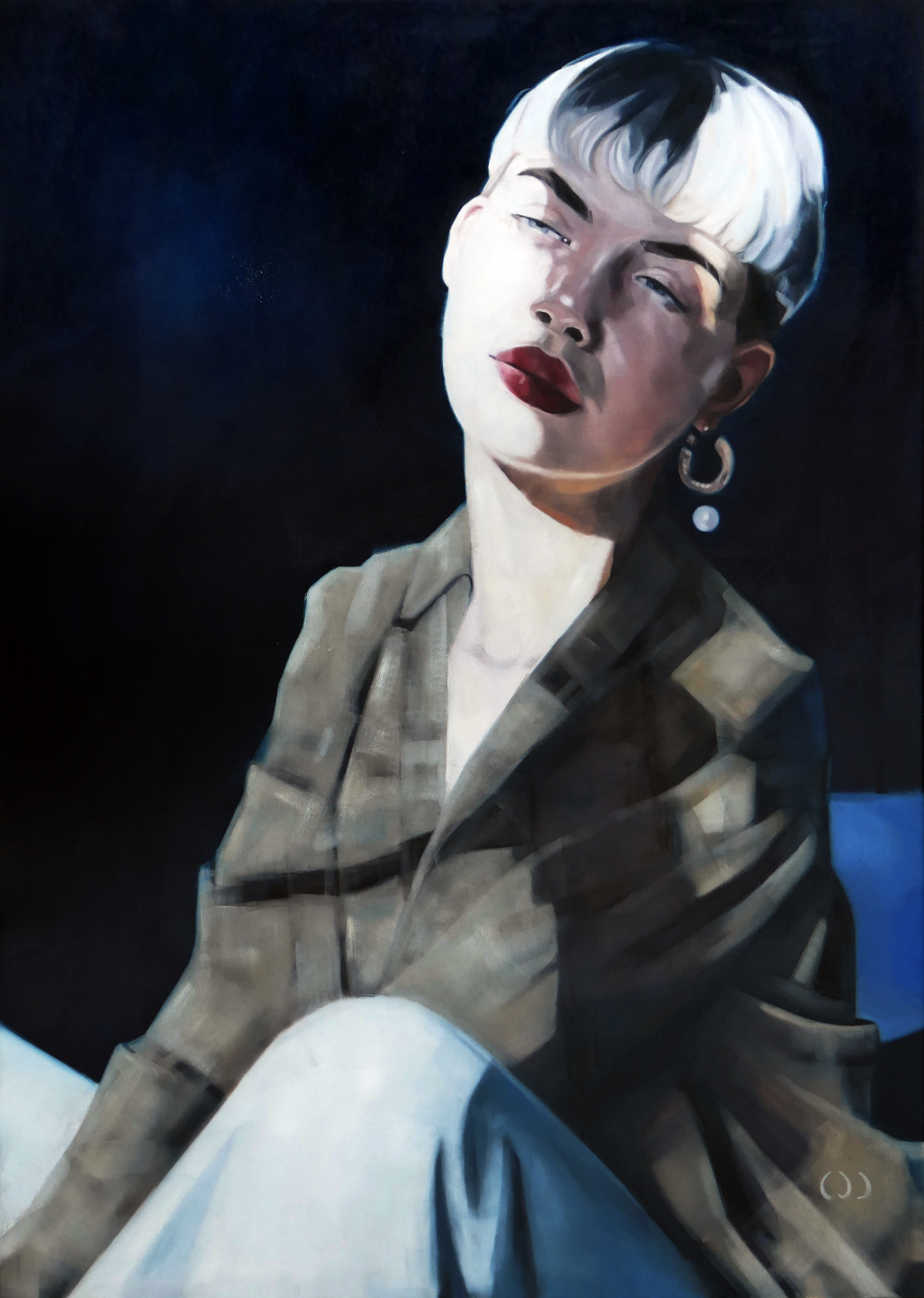 Angie 3, oil on canvas, 140x100, 2020